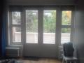 Nieuwe terrasdeuren met ramen. (in oude style)