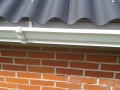 Renovatie dak schuur inclusief goten.